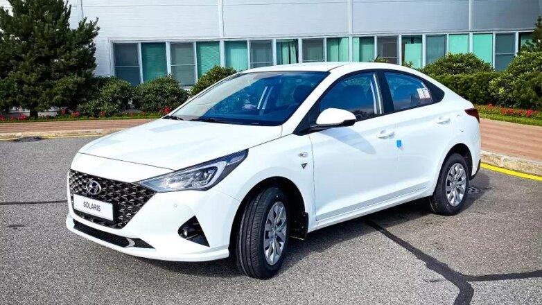 Hyundai выпустит спецверсию Solaris для России