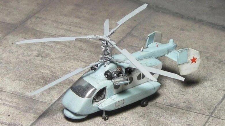 макет вертолета Ка-65 «Минога»