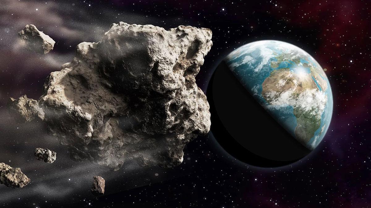 Астеройд приближается к земле