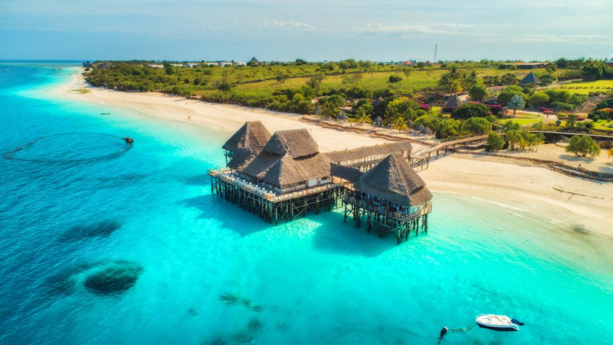 Остров Занзибар в Танзании Танзания туризм один