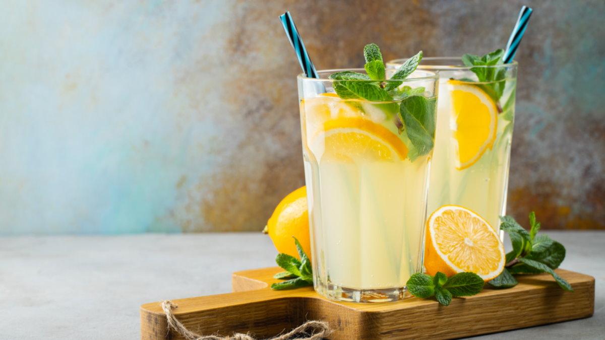 Лимонад лимоны два