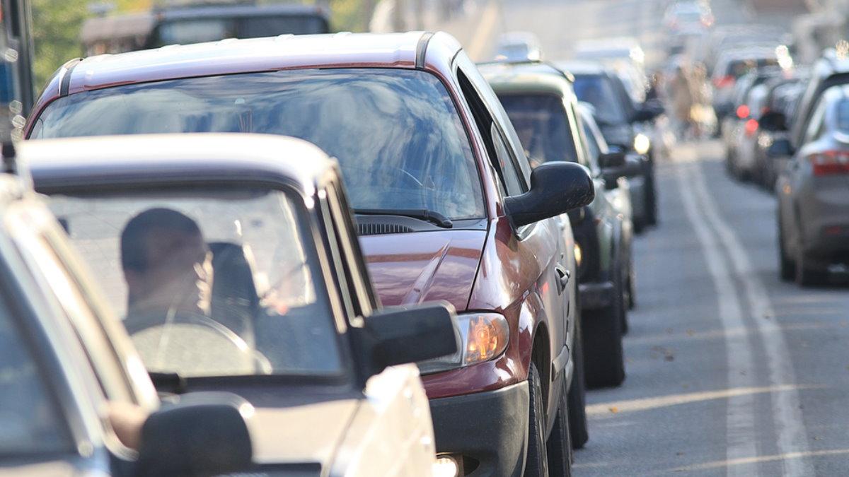 Россия машины траффик пробки пробка