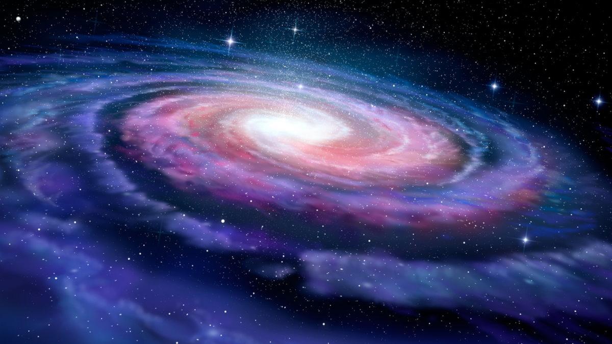 Спиральная галактика Млечный Путь космос