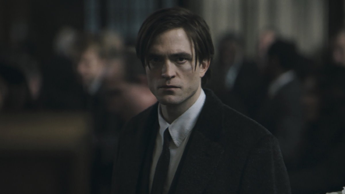 Кадр из фильма Бэтмен Роберт Паттинсон - 2022 года