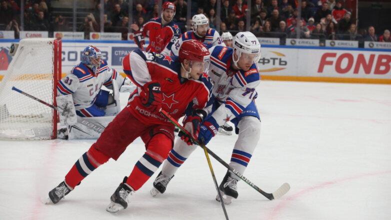 ЦСКА - СКА хоккей
