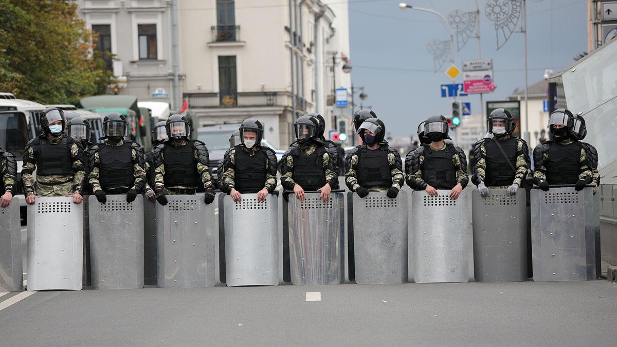 Минск протесты Белоруссия Беларусь омон митинг