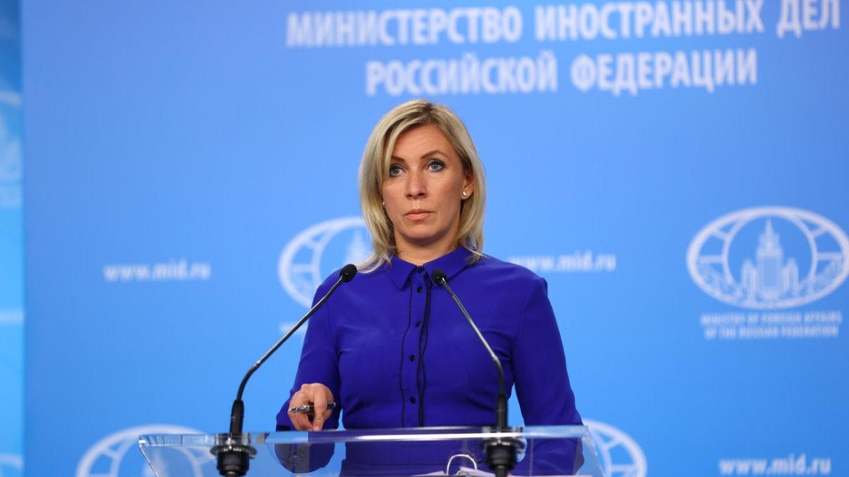 Официальный представитель МИД России Мария Захарова восемь