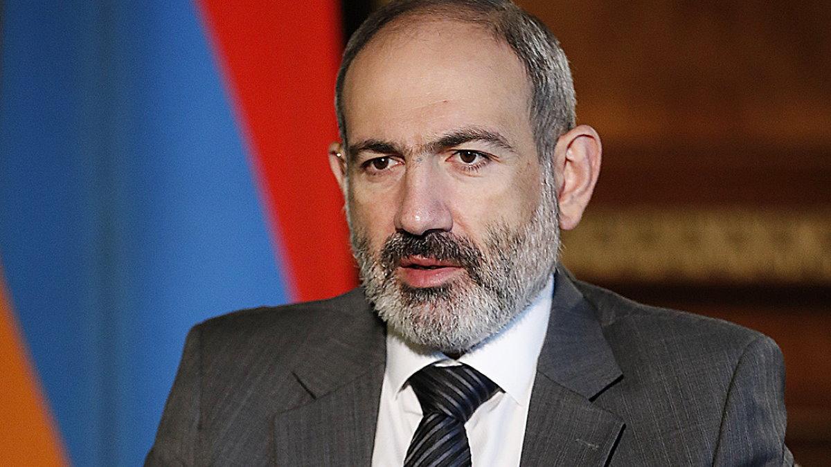 Премьер-министр Армении Никол Пашинян четыре