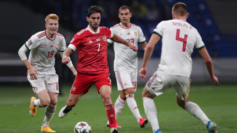Сборная России по футболу сыграла вничью с командой Венгрии