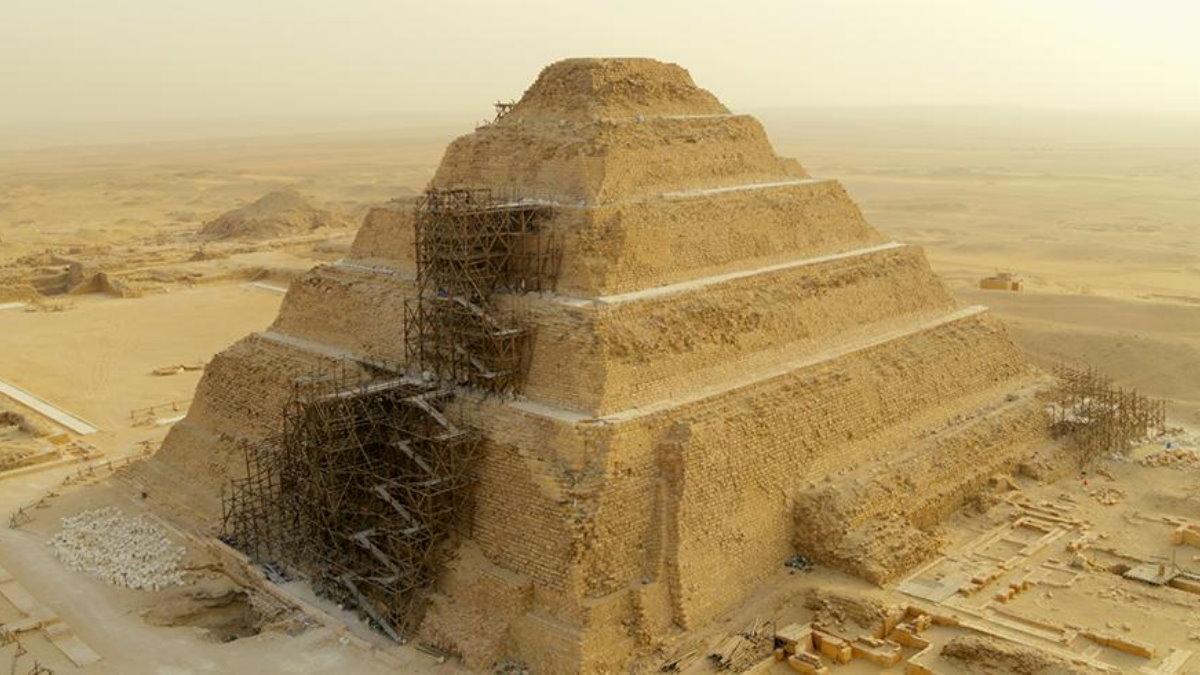Кадр из фильма Secrets of the Saqqara Tomb