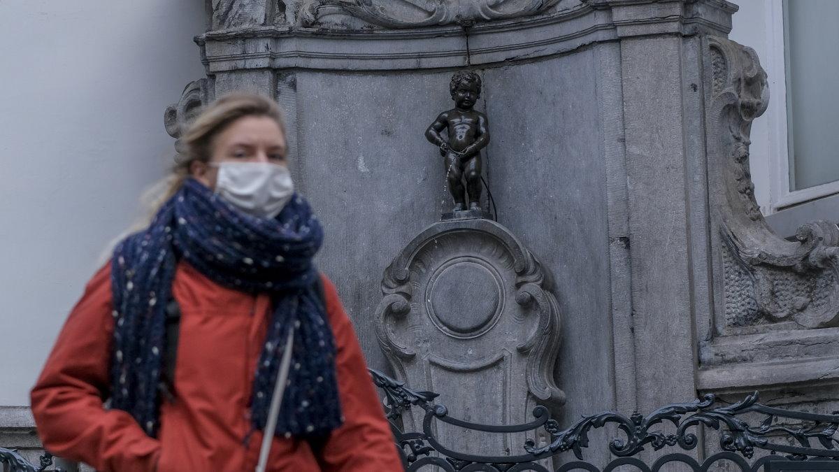 Брюссель Бельгия коронавирус
