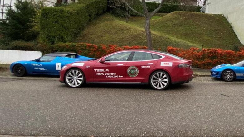 Tesla пробег