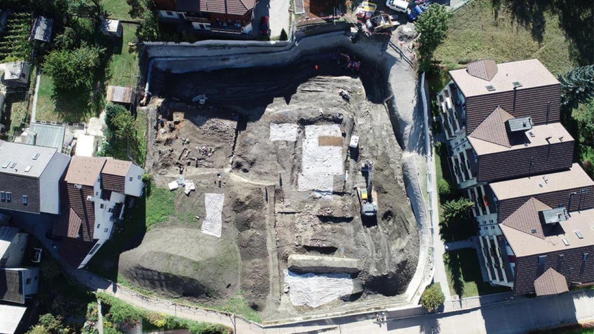 Необычное римское здание обнаружили в Швейцарии