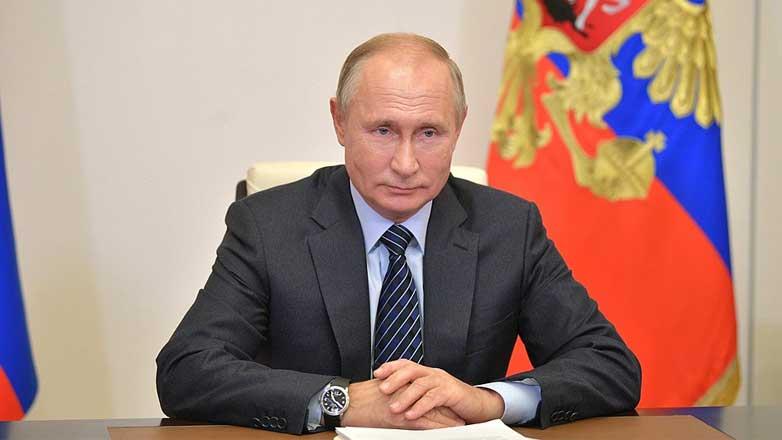 Владимир Путин Коронавирус пандемия вторая волна