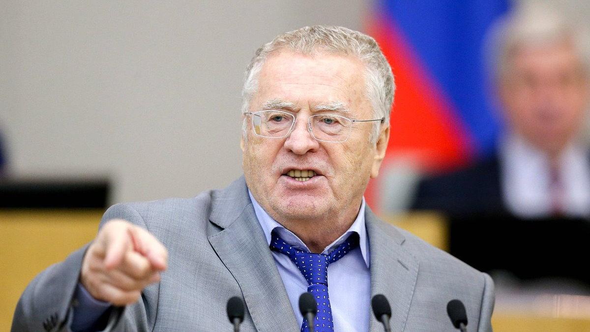 Лидер ЛДПР Владимир Жириновский выступление два
