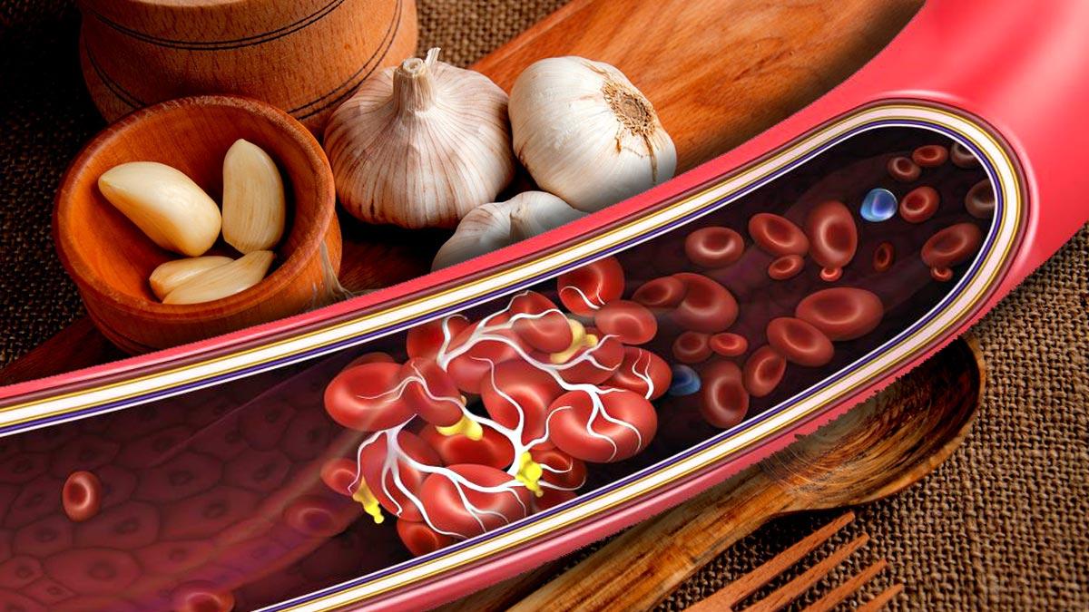 чеснок сосуды диабет артерии здоровье
