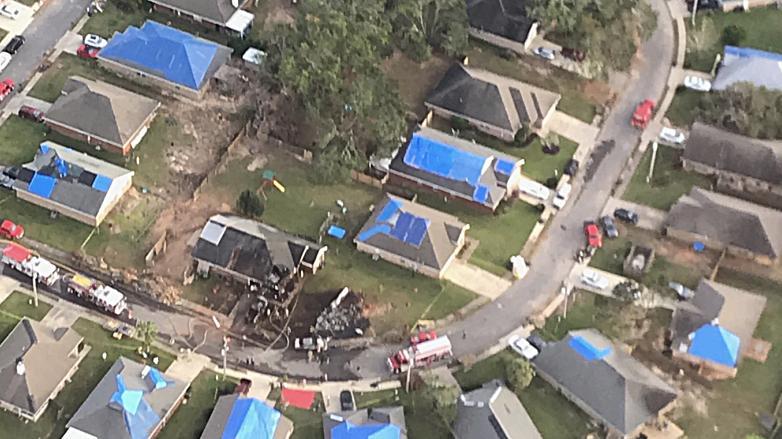 в Алабаме упал самолет ВВС США