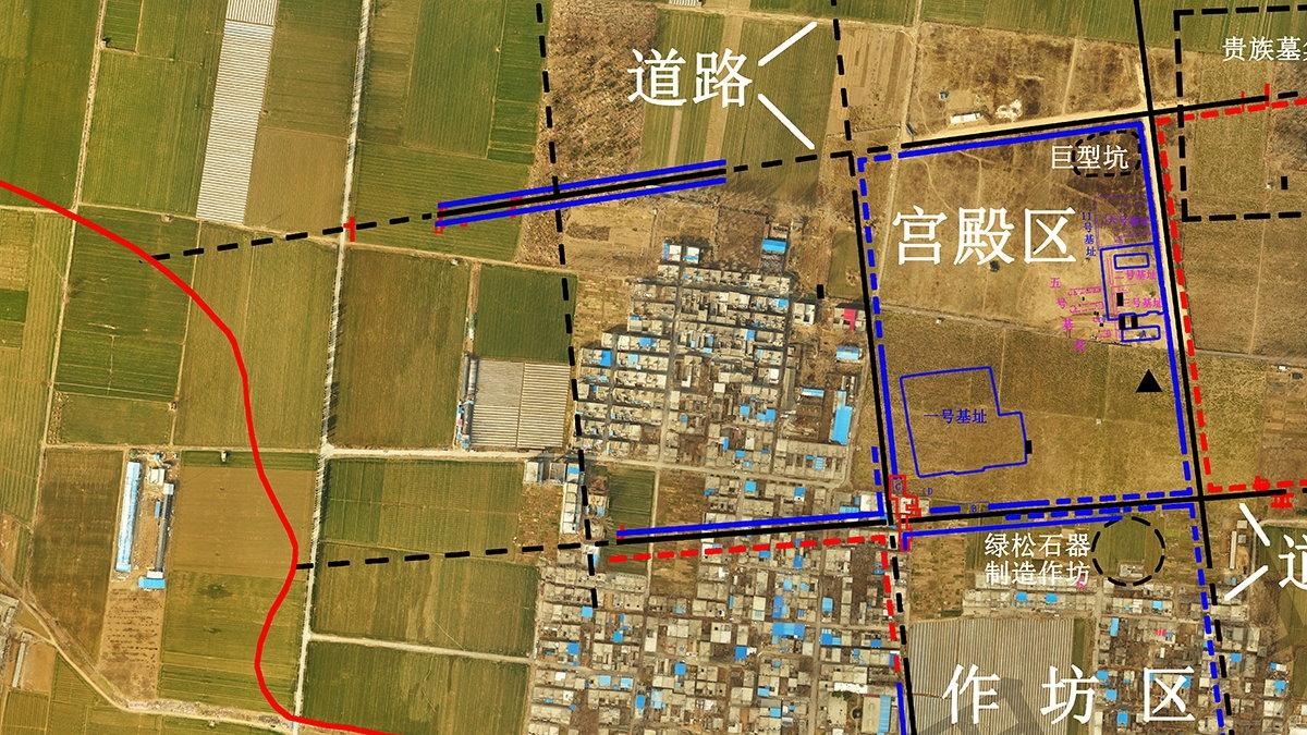 Самая ранняя многосеточная планировка города Китай археология