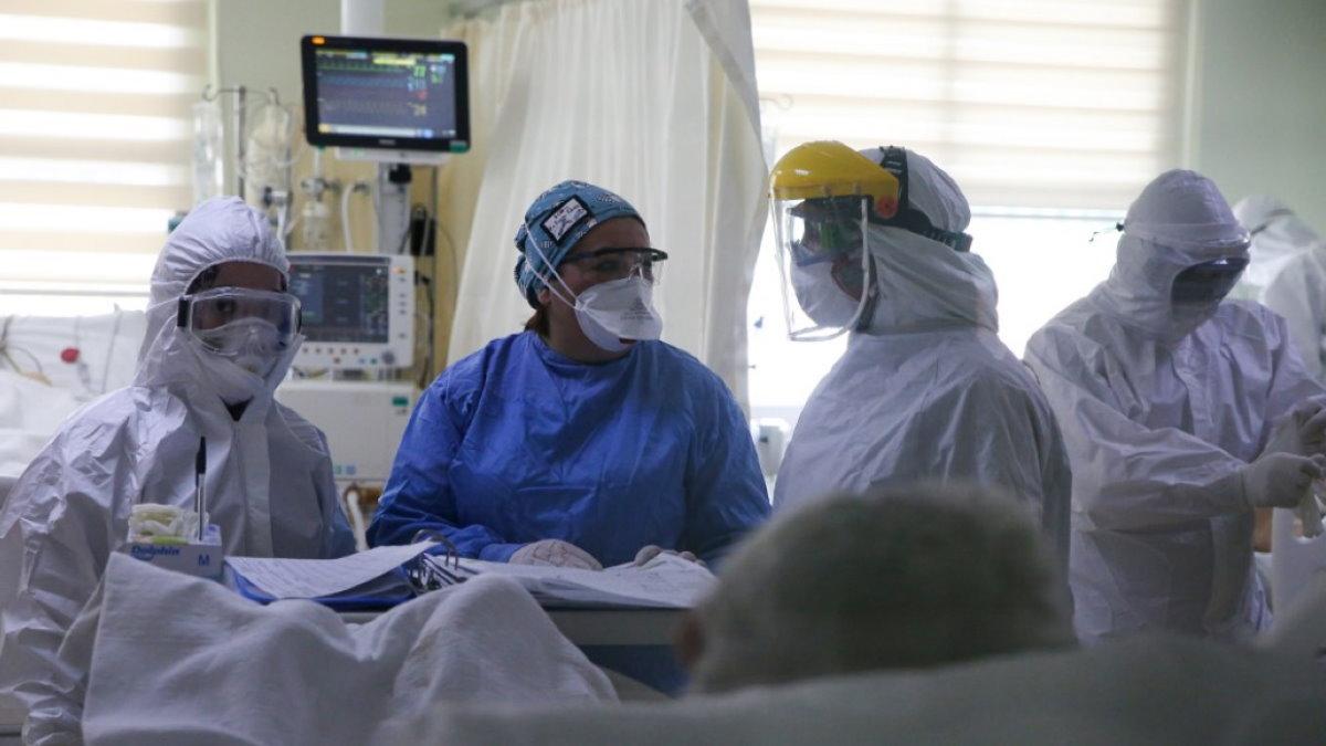 Турция врачи палата коронавирус