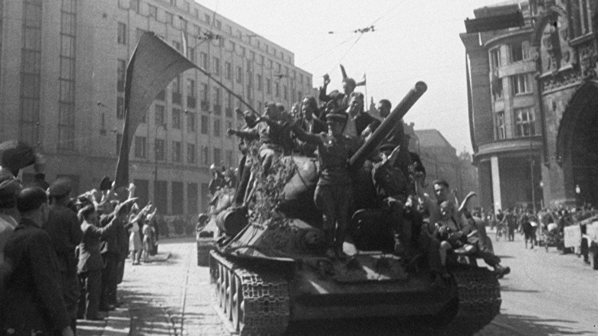 Освобождение Польши войсками Красной армии ВОВ два