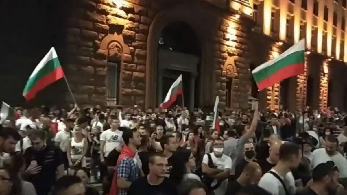София Болгария протесты
