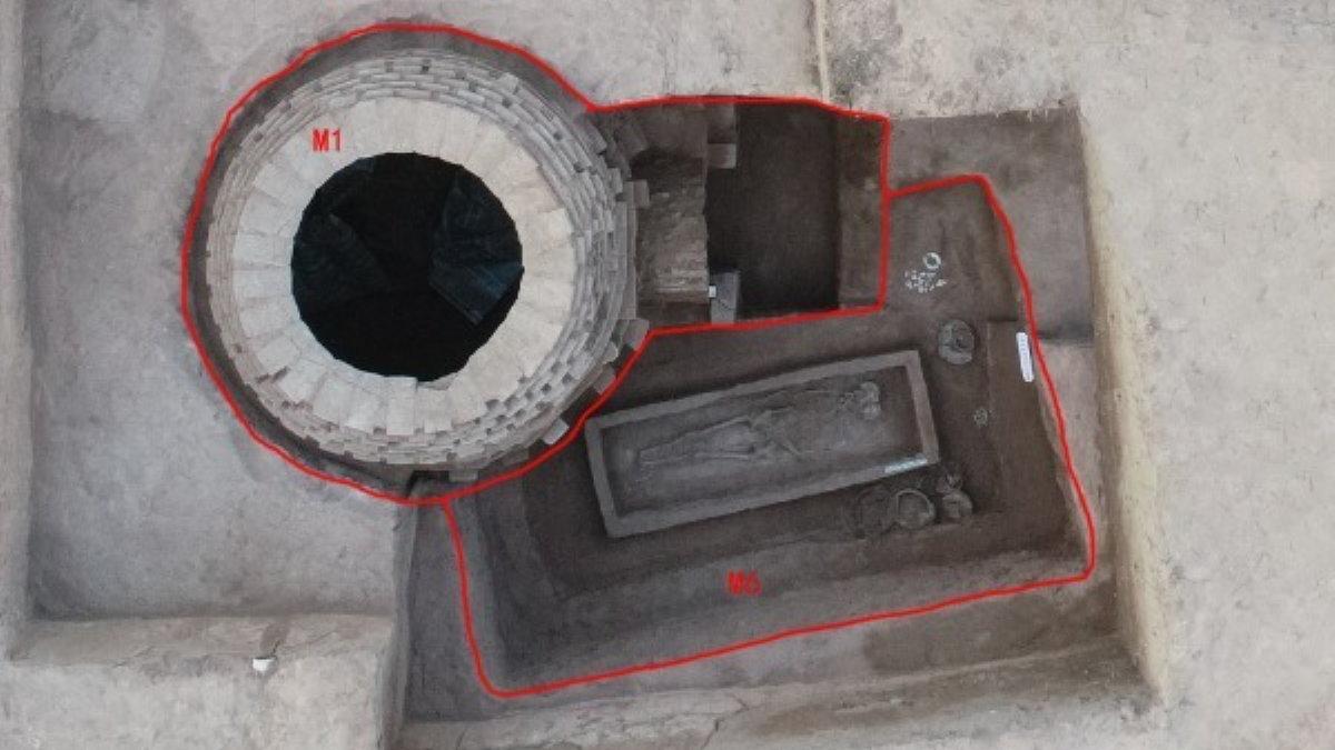 Древняя китайская гробница археология