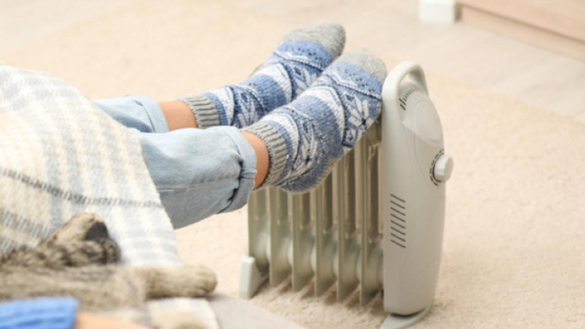 Ноги мёрзнут обогреватель холодно в доме два