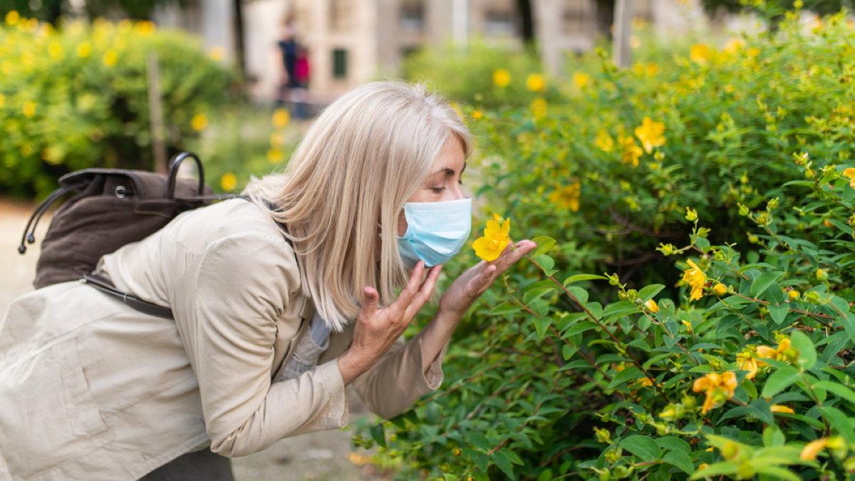 коронавирус запахи обоняние потеря чувств цветы два