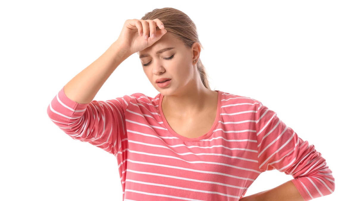 Женщина усталость кровяное артериальное давление
