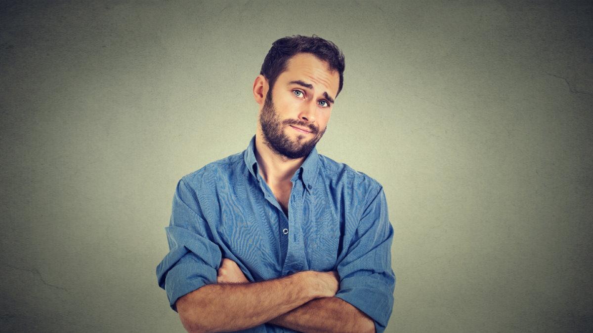 Циник скептик циничный скептичный человек мужчина