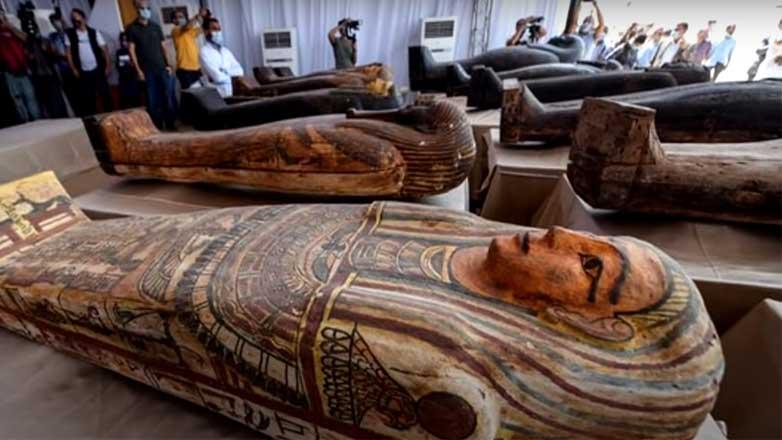 Египет мумии журналисты