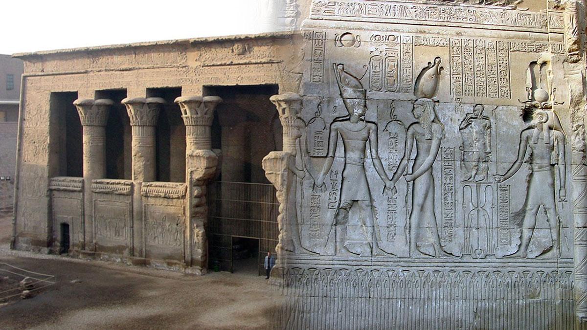 храм эсна египет