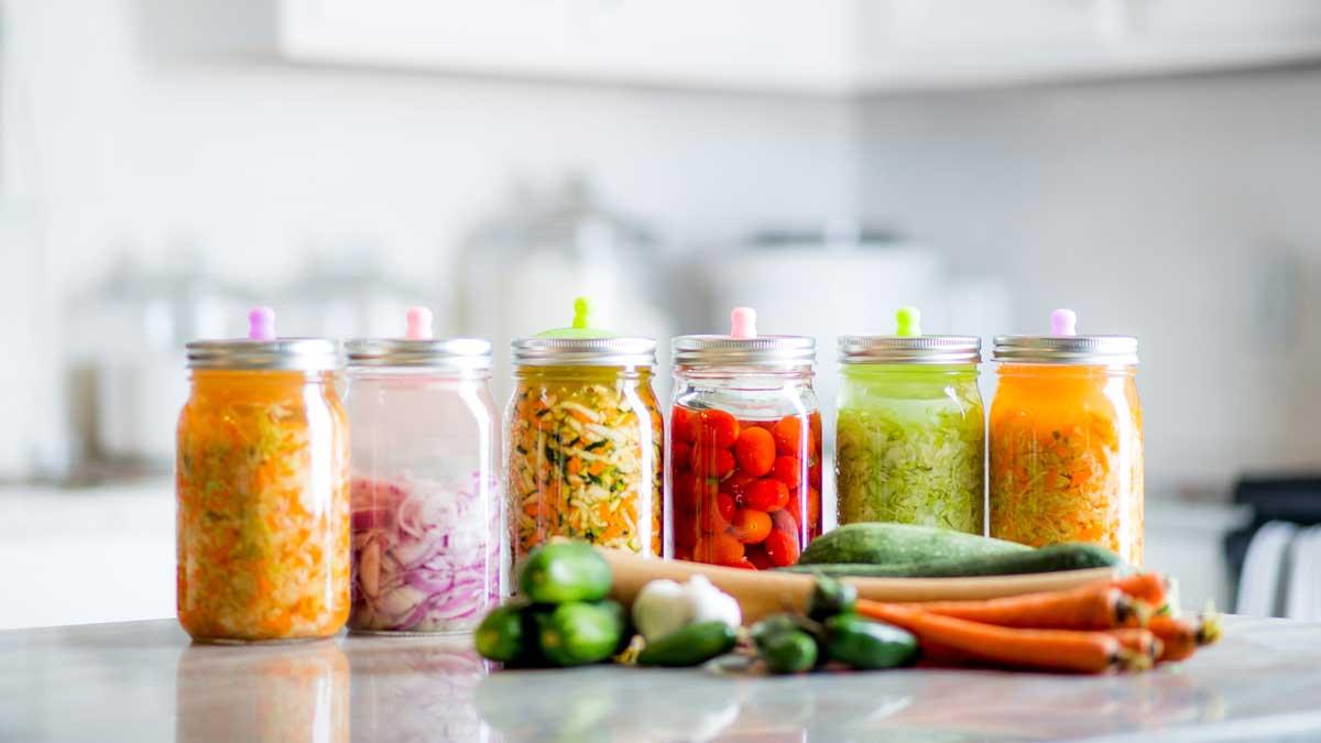 Ферментированные продукты капуста Fermented Foods