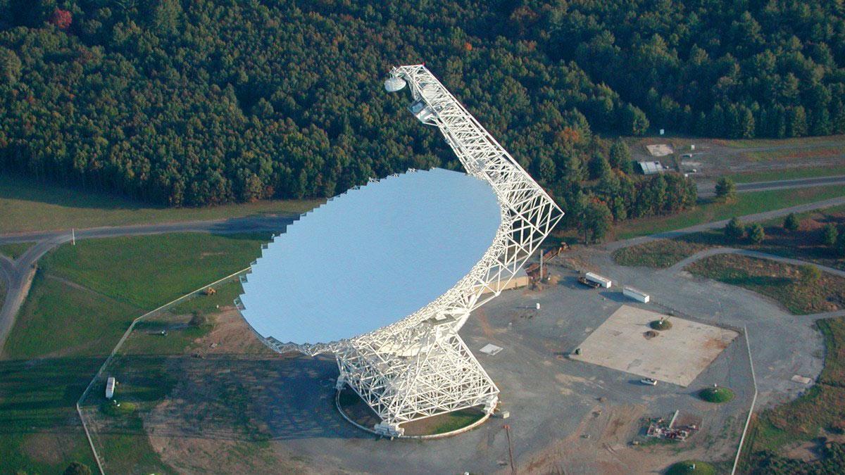 Green Bank грин банк телескоп радиотелескоп сша
