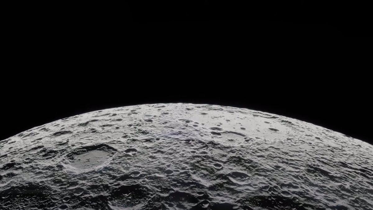 Луна поверхность Луны орбита