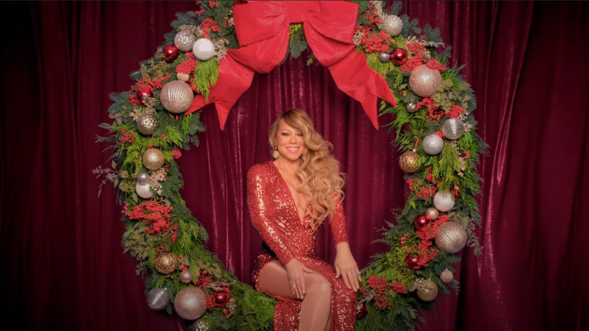 Мэрайя Кэри шоу Mariah Careys Magical Christmas Special один