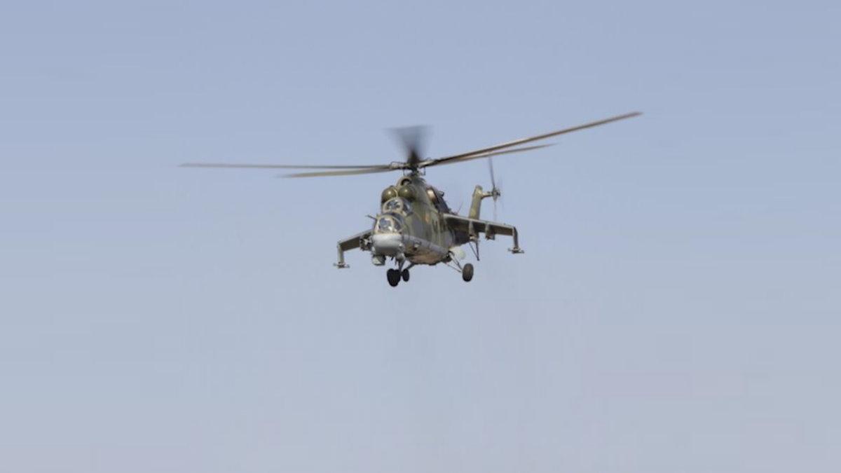 Азербайджан сбил русский  Ми-24 уграницы сАрменией