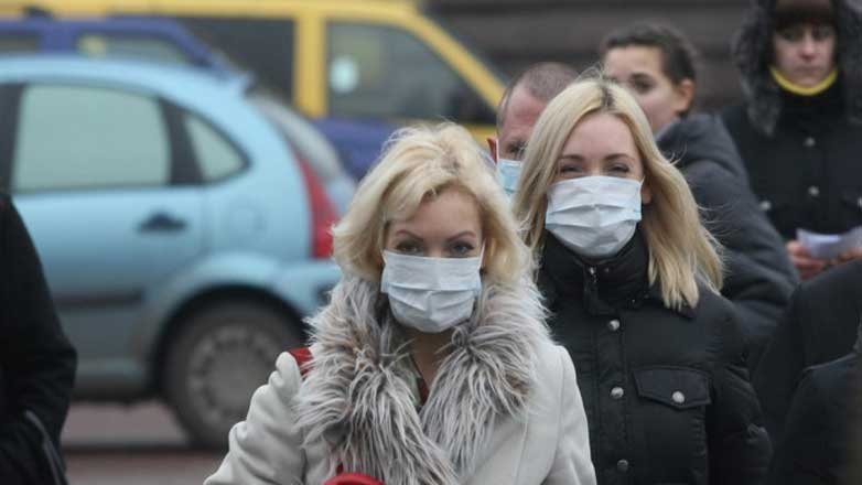 Minsk masks люди улицы Минск маски