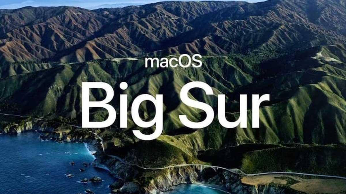 Новая операционная система macOS Big Sur