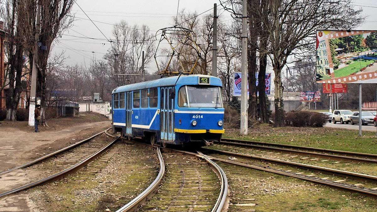 Одесса едет трамвай