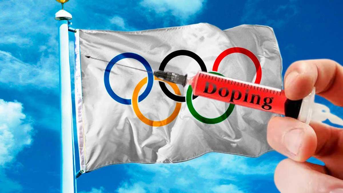 Олимпийские кольца допинг шприц