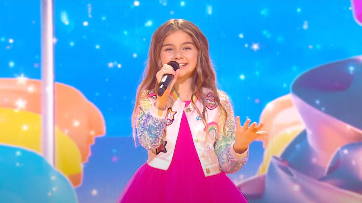 Победительница Детского Евровидения-2020 из Франции Валентина Тронель