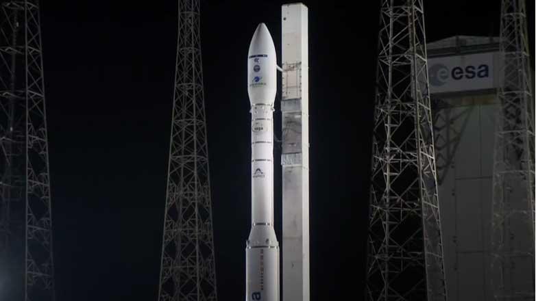 Ракета подготовка к взлету