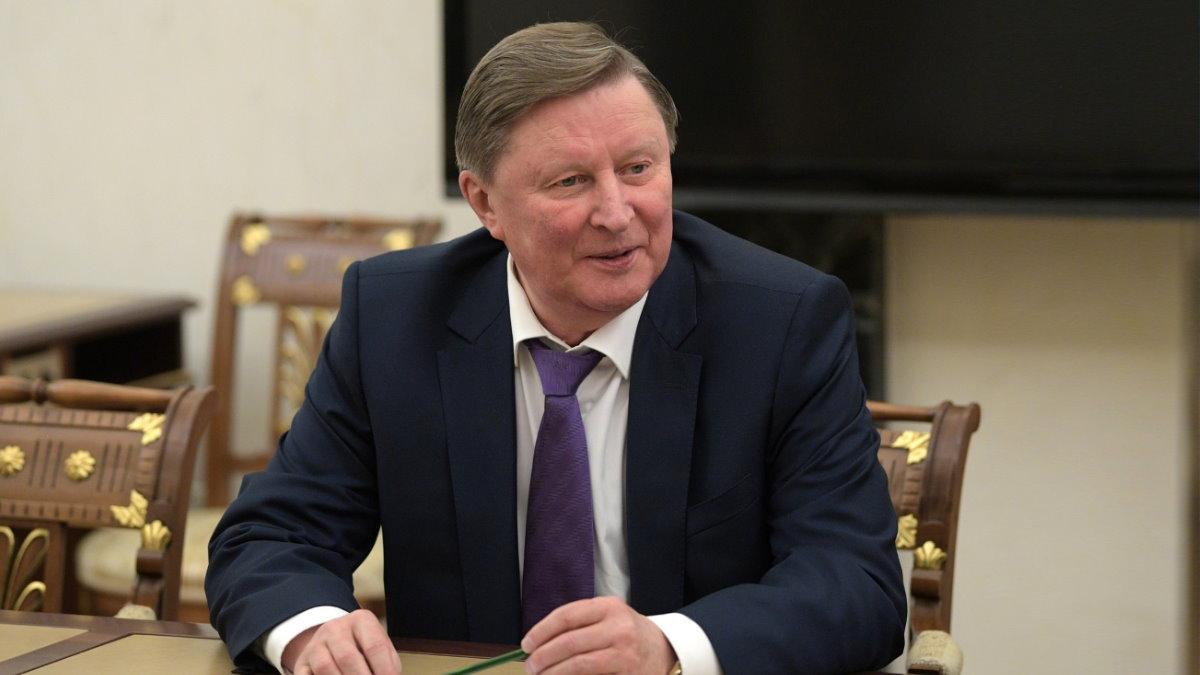 Специальный представитель Президента по вопросам природоохранной деятельности экологии и транспорта Сергей Иванов два