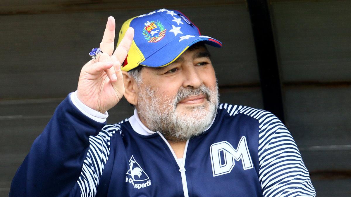 Диего Марадона один
