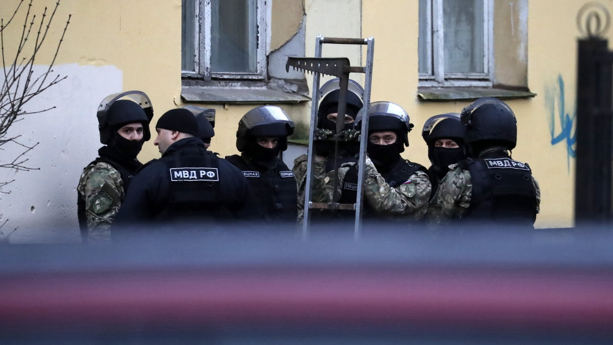 Россия захват заложников заложники штурм спецназ