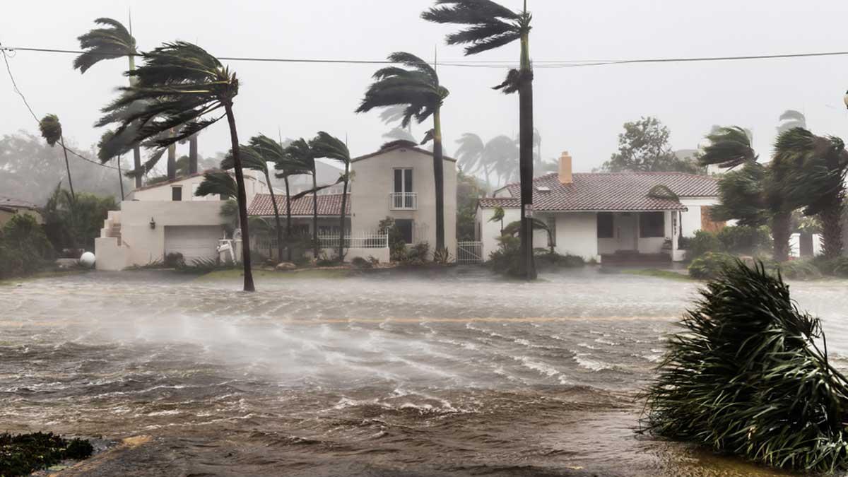 Ураган Никарагуа потоп