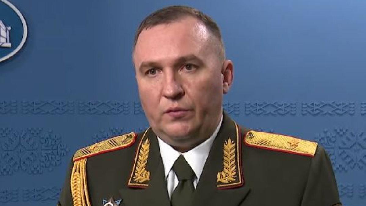 Глава Минобороны Белоруссии Виктор Хренин