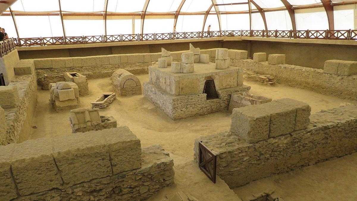Древний римский город Виминациум в Сербии Костолац археология