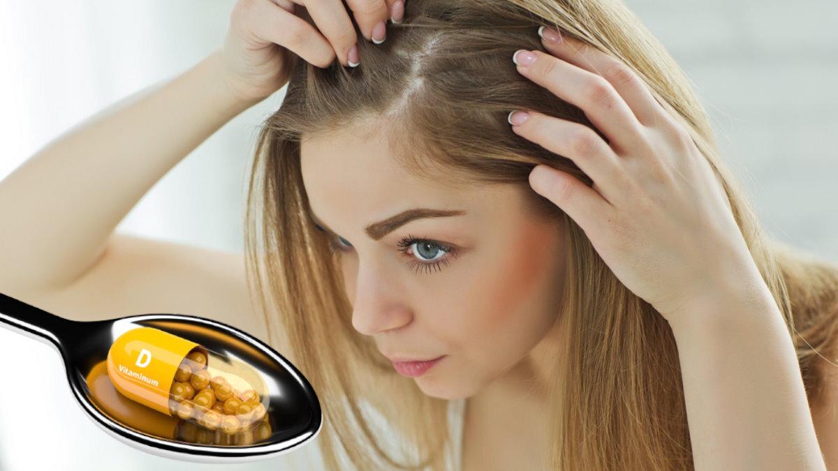 Витамин D для волос